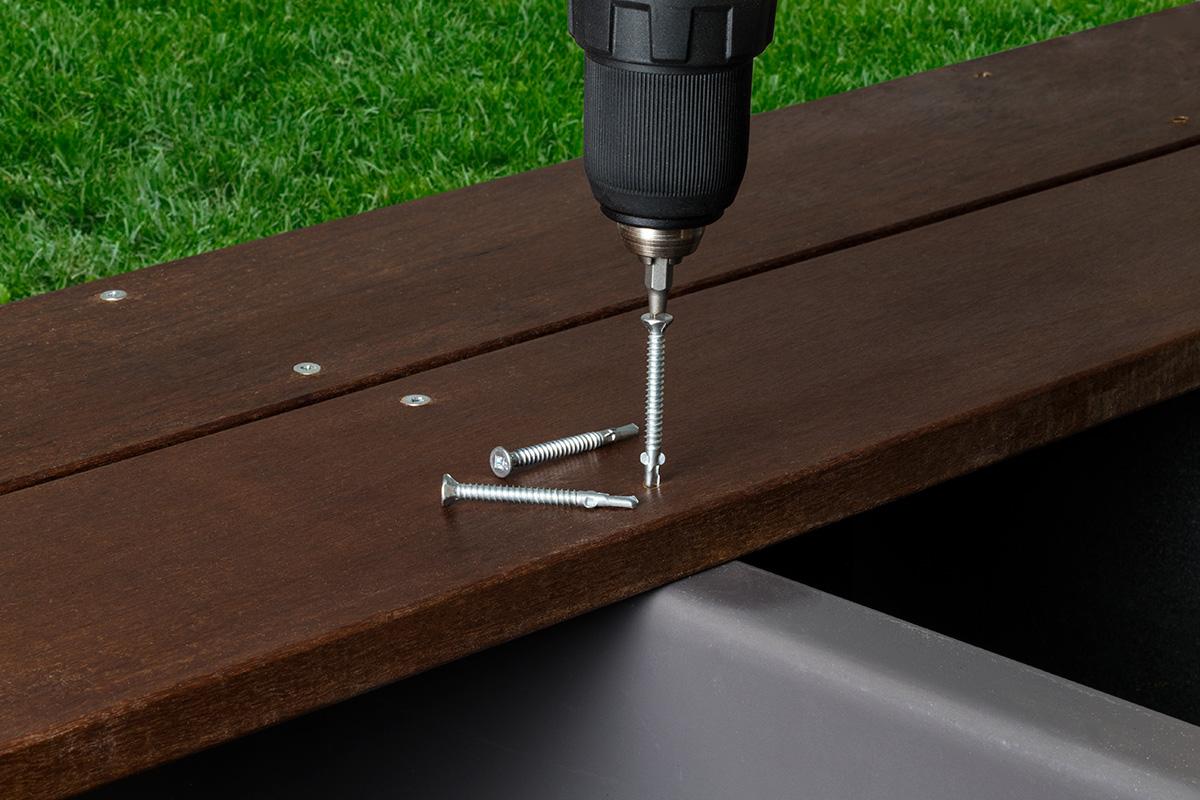 BFHSD Bi-Metal Screw Timber-to-Steel - Collated & Loose
